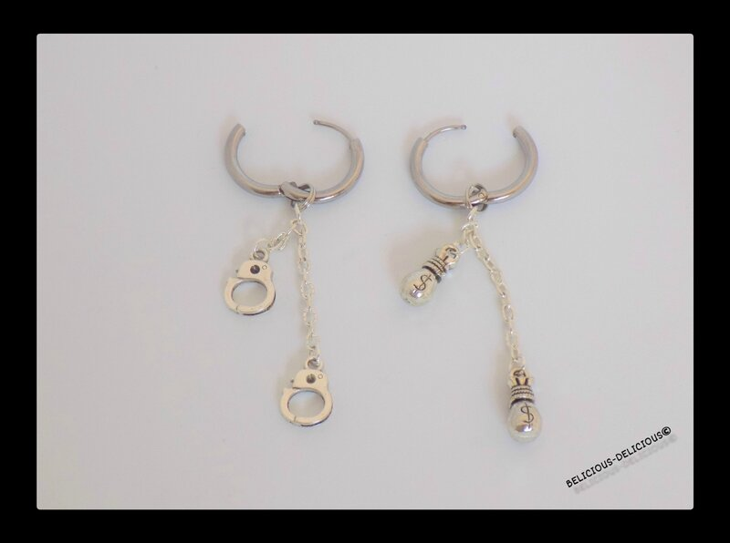earrings mens moto 4