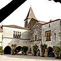 la bastide de Montpazier