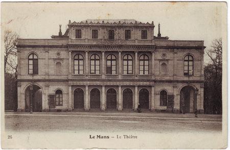 72 - LE MANS - Thêatre