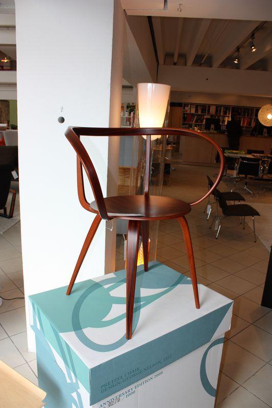 La fameuse chaise Pretzel de Nelson, en édition limitée