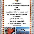 Conférence histoire de l'art : le land-art