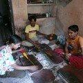 Atelier de fabrication de bracelets, Bundi