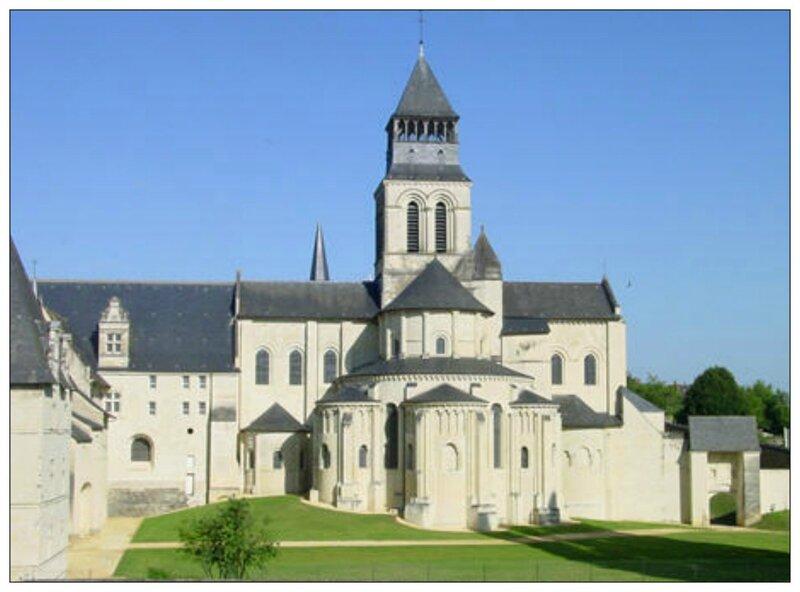 l' Abbaye de Fontevraud