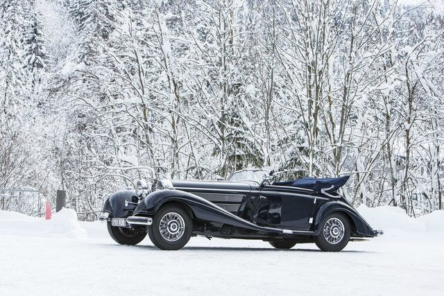 1938 mercedes benz 540 k cabriolet a alain r truong for 2 5 million mercedes benz