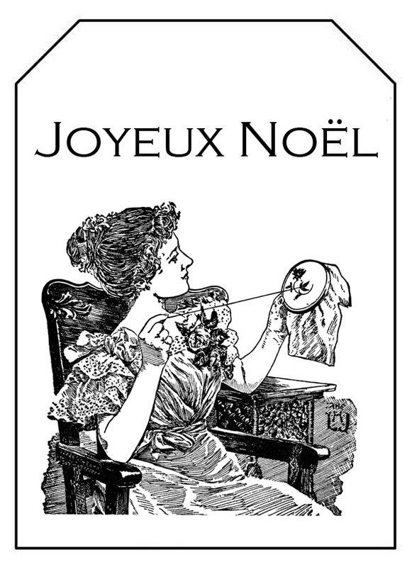 étiquette noel couture 7