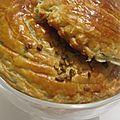 Galette noisette-pistache pour bien commencer l'année 2012 !