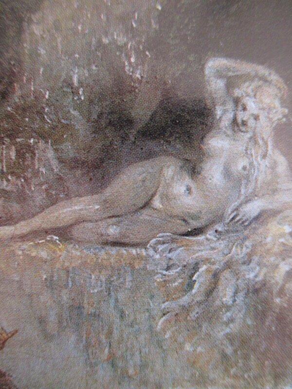 Statue détail Watteau