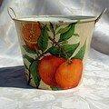 Cache-pot oranges