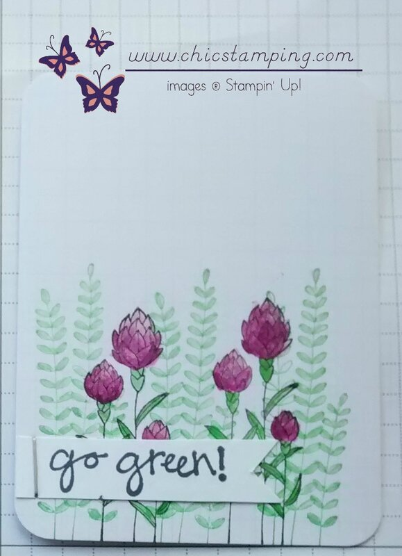 DIY project life card serie Flower Fields 3