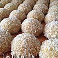 Boule à la noix de coco & confiture