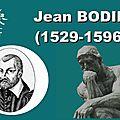 Jean bodin (1529 - 1596)