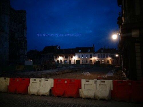 Place St Pierre avancés des travaux