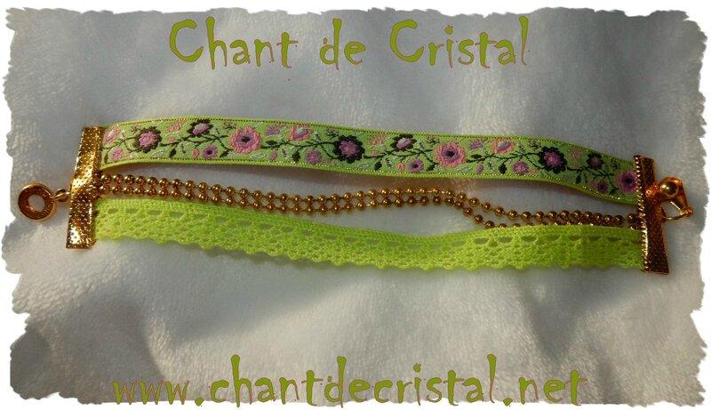 bracelet anis rose