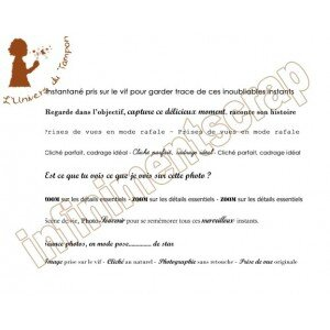 Petites phrases photos