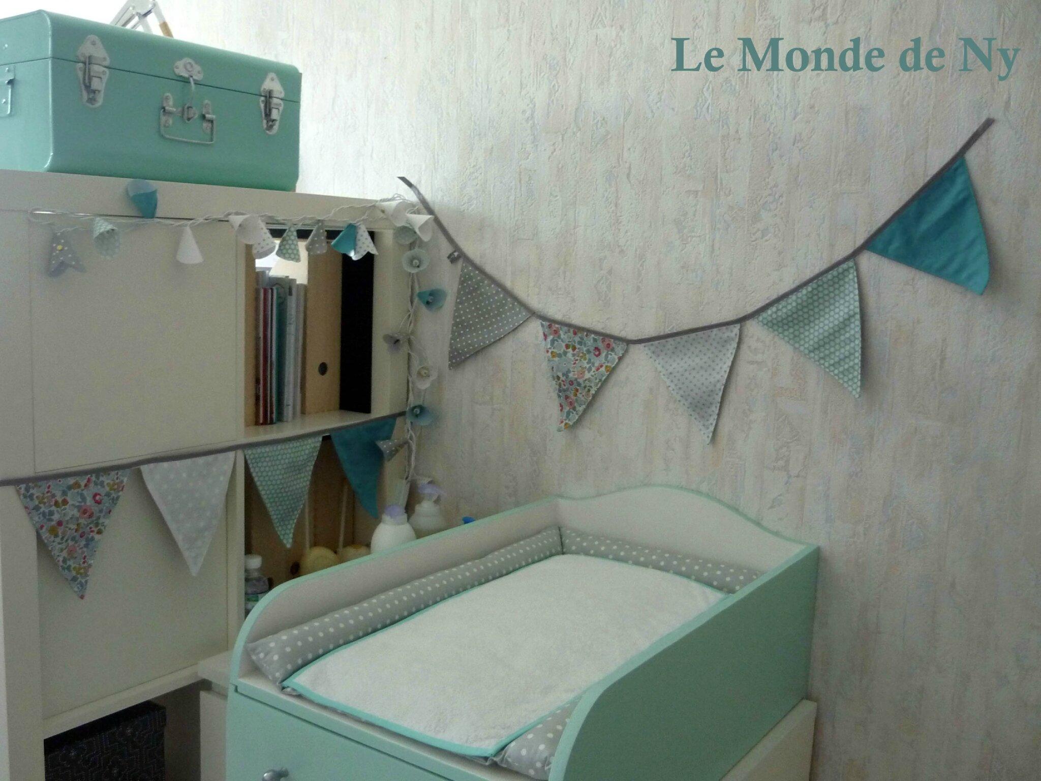 D co pour chambre b b les guirlandes le monde de ny for Guirlande pour chambre bebe