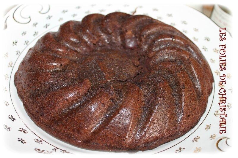 Gâteau chocolat cerises 9