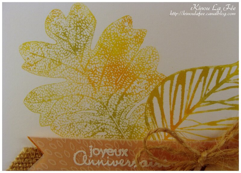 Carte Automne Baby Wipe 3