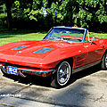 Chevrolet corvette sting ray convertible de 1963 (Retrorencard mai 2011) 01