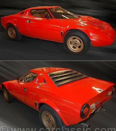 LANCIA - Stratos Stradale 3,200 real Km from new - 1975