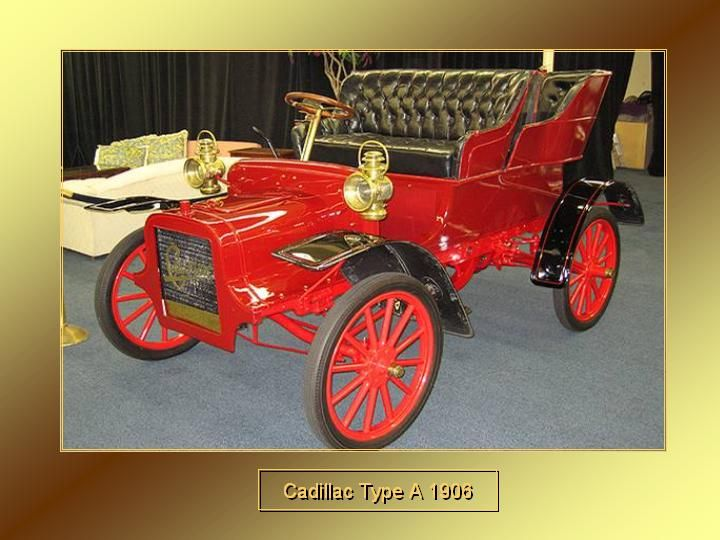 1906 - cadillac Type A