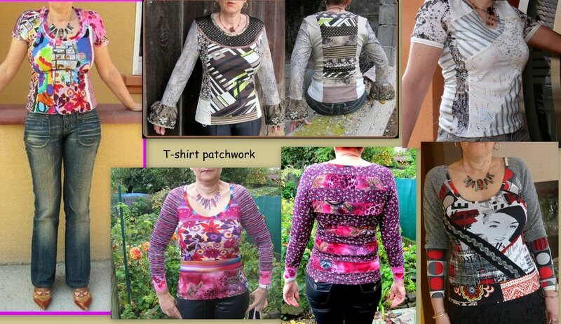 T-shirt patchwork