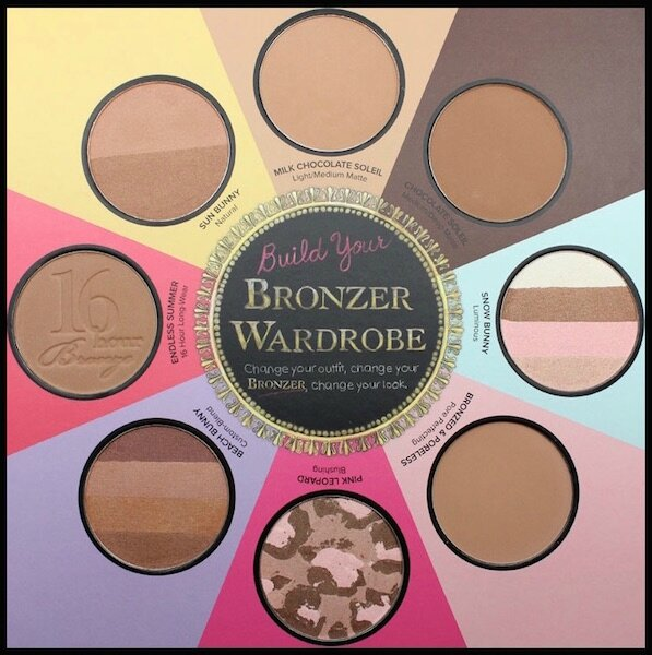 too faced the little black book of bronzers 1