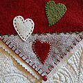 DIY tapis coeurs