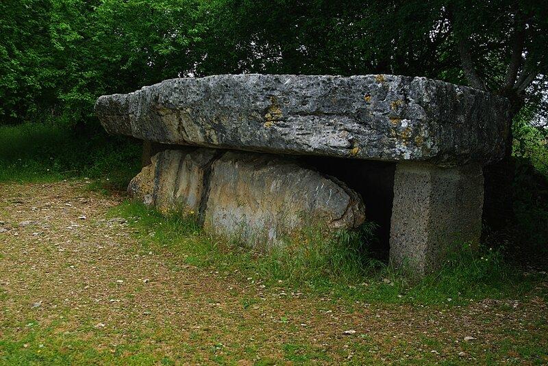 Dolmen de la Pierre Martine(Lot)000001