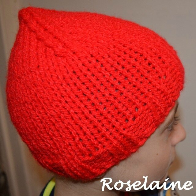 Roselaine bonnet drops design 3