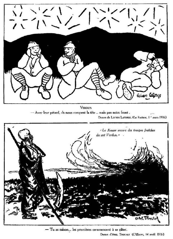 Dessins de guerre Verdun17