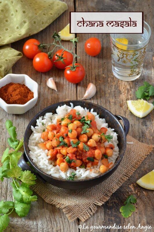 recette chana masala vegan pois chiches tomates