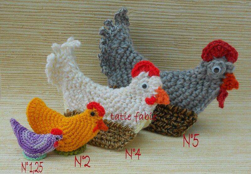 Decoration cuisine en crochet avec des - Crochet ustensile cuisine ...
