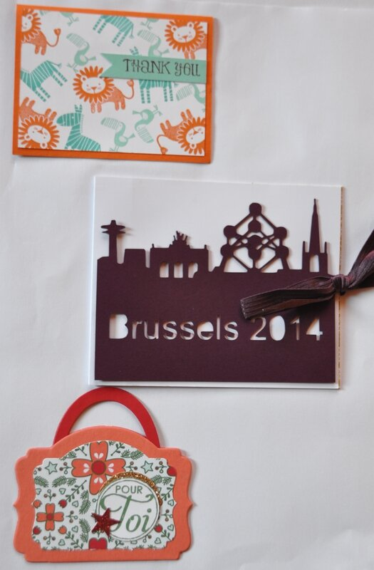 Convention Stampin up Bruxelles 2015 - Swaps 28