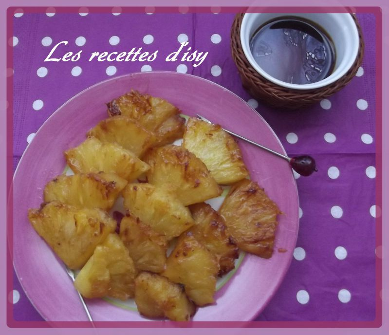 ananas caramélisé2