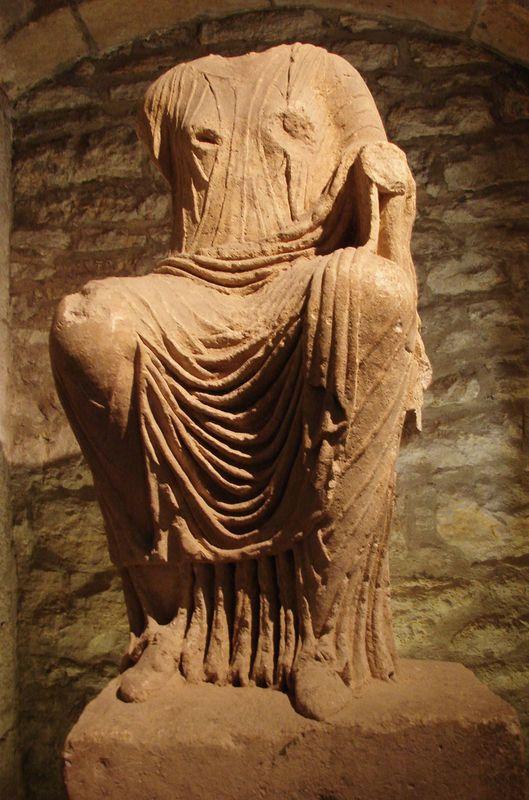 Musée archéologique - археологический музей Дижона