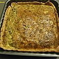 Quiche au crabe antillaise