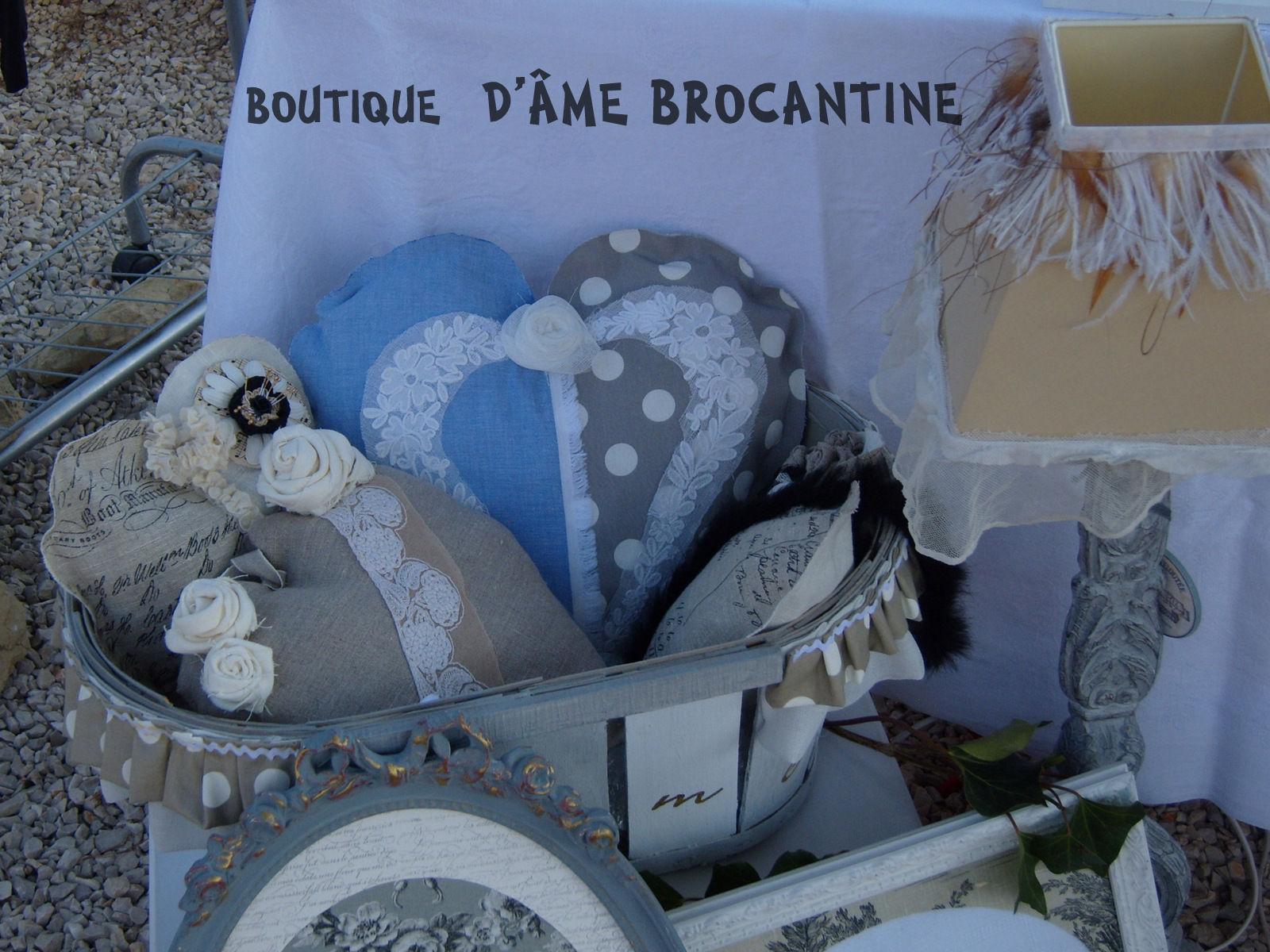 présentation de la boutique dame brocantine