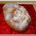 Fougasse aux fruits confits
