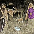 Crèches du monde à landogne