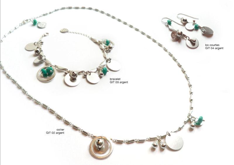 Gitane Argent & Turquoise