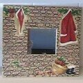 Miroir vetements Pere Noel