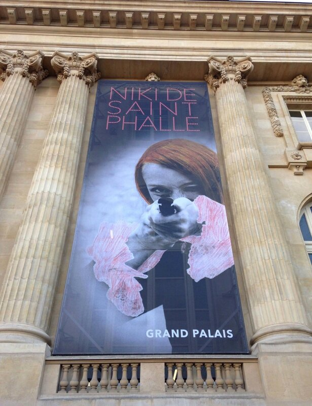 Nicki de Saint Phalle-Grand Palais-Paris
