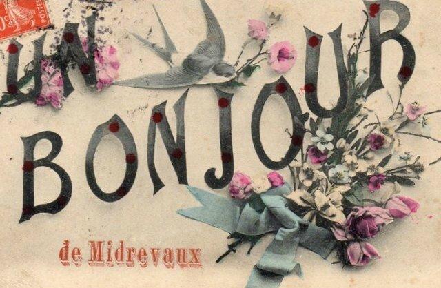 1 21-10-10-1 MIDREVAUX Un Bonjour