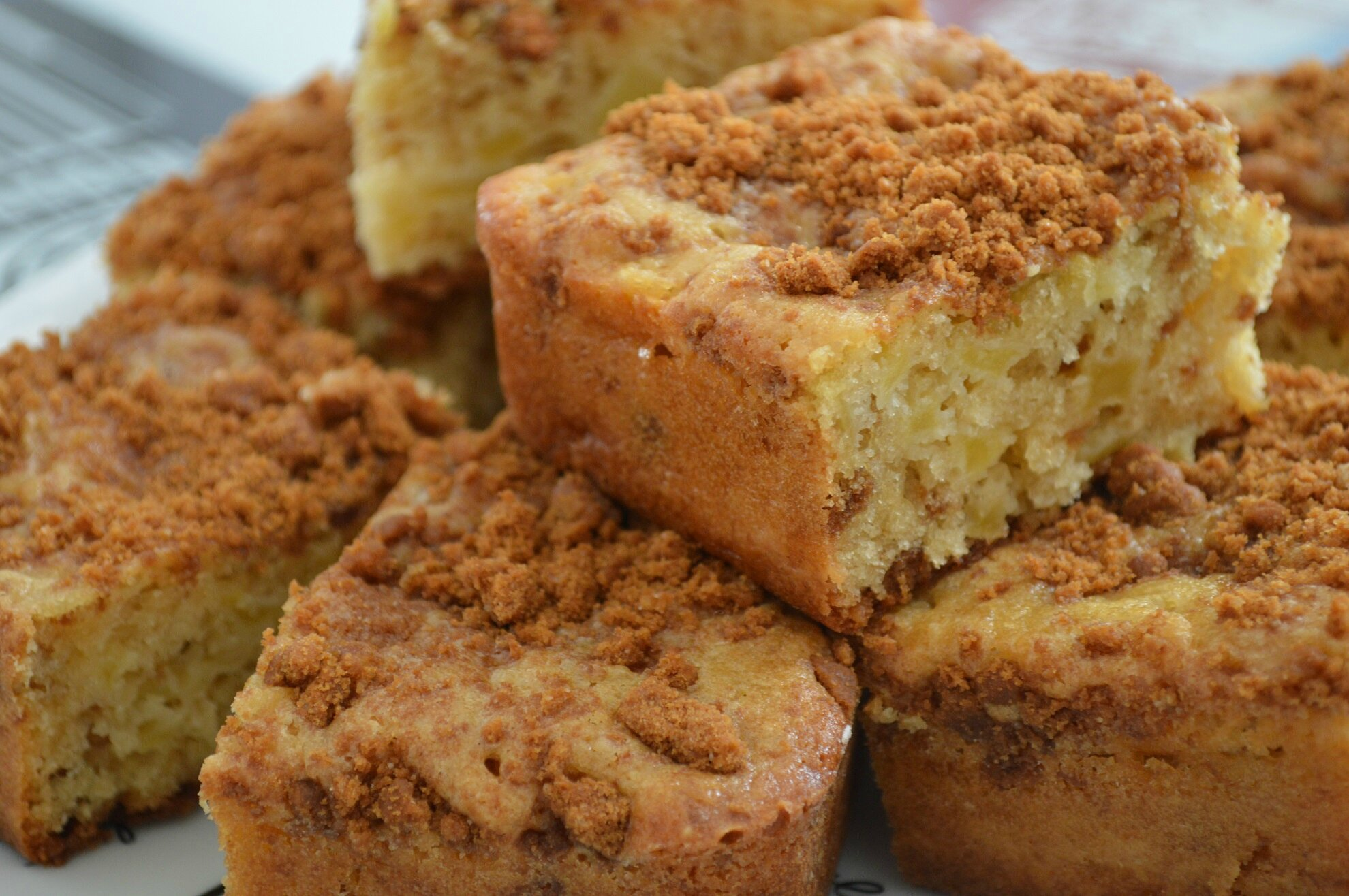 Gateau speculoos pommes
