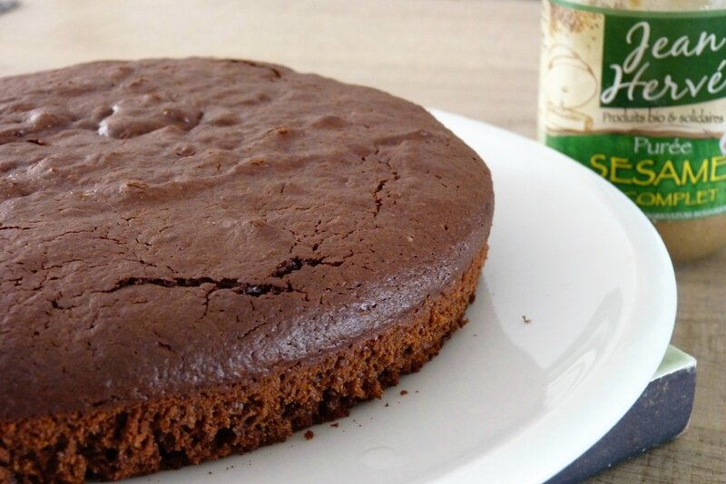 Gâteau choco-sésame 1