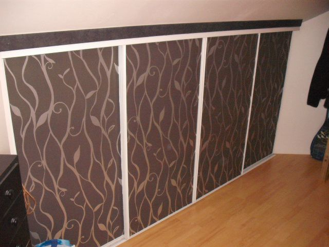 dressing customisation des portes coulissantes cathypety. Black Bedroom Furniture Sets. Home Design Ideas