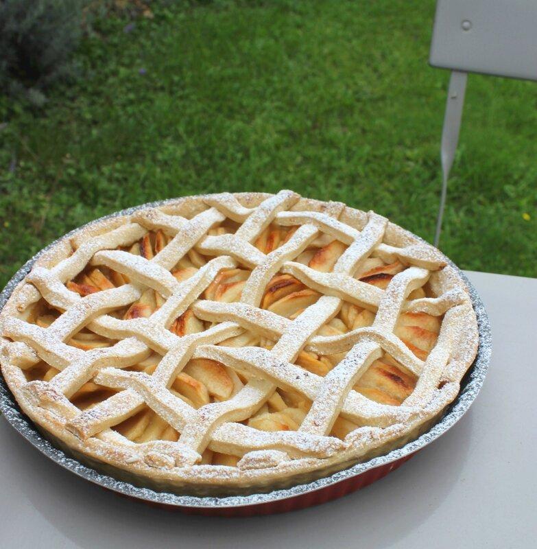 Grillé aux pommes (2)