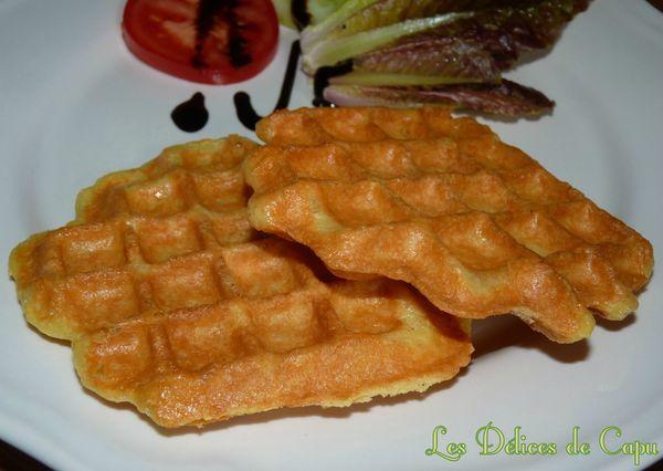 Gaufres en pâte à choux au maroilles1