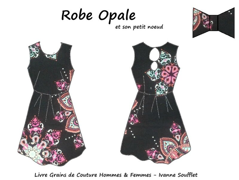 Dessin technique - Robe Opale