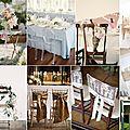Décoration : des chaises pour votre mariage